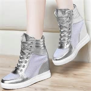 Heel High Sneaker Women Shoes