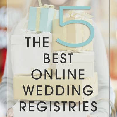best online wedding registry the 5 best online wedding registries