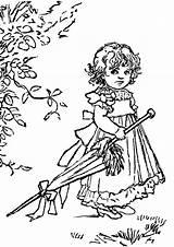 Coloring Sad Adult Umbrella Adults Drawings Kid Visit sketch template