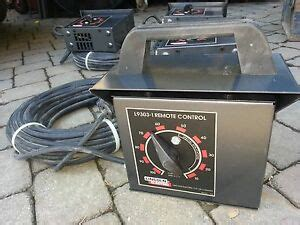 Lincoln Variable Amp Power Remote Control Lead