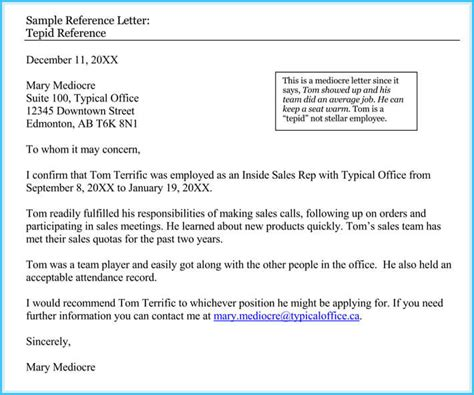 sample reference letters  human resource  writing