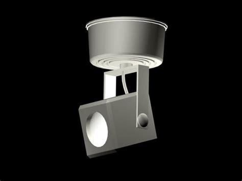 Surface mounted spot light design 3d model 3dsMax,3ds