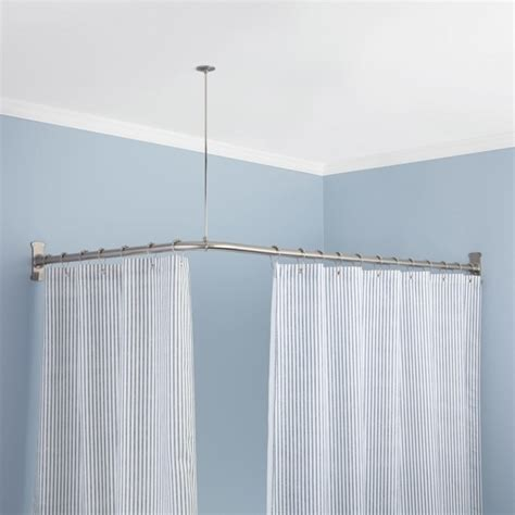 shabby brown fabric shower curtains for white acrylic tub