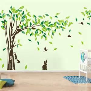 aliexpress buy new wall decor tree wall sticker green lifesize trees wall decals