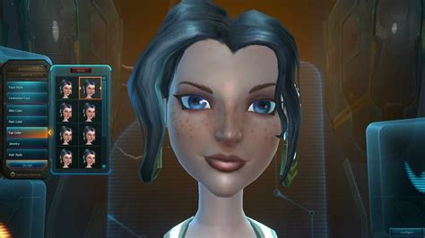 wildstar exiles female human character creation