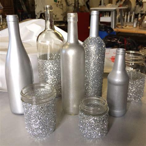 ideas using glass bottles lenore wedding centerpiece diy