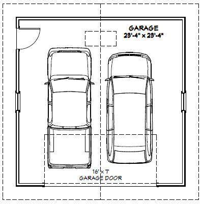 2 car garage dimensions 24x24 2 car garage 24x24g1e 576 sq ft excellent
