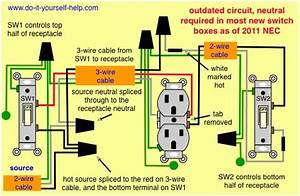 2 Light Switch Wiring Diagram