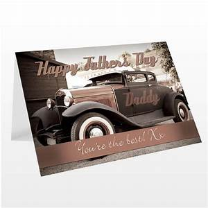 Personalised Classic Car Father's Day Card - alyssasgifts ...