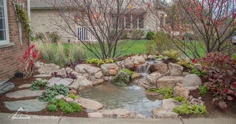 Aquascape Ecosystem by Ecosystem Ponds Pond Construction Company Chicago Il