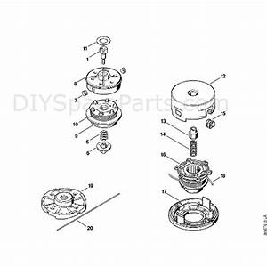 Stihl Fs 85 Brushcutter  Fs85  Parts Diagram  N