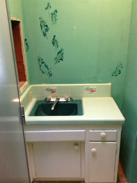 13 best images about Bathroom with Vintage Green 1960s