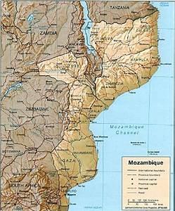 Mapa De Localiza U00e7 U00e3o De Mo U00e7ambique O Clima  Dum Modo Geral