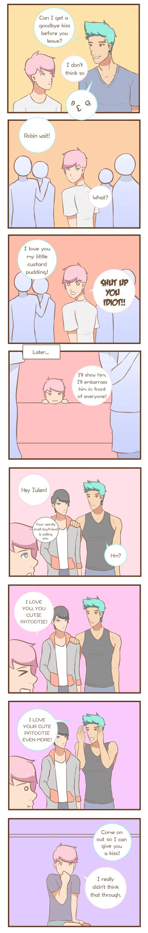 5 Adorable Comics About Gay Couples Everyday Life Bored