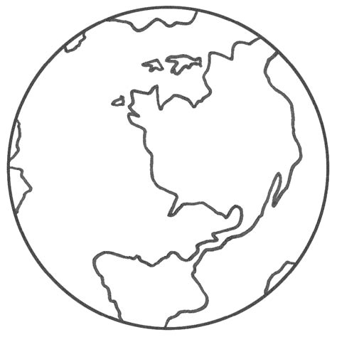 earth coloring page az coloring pages