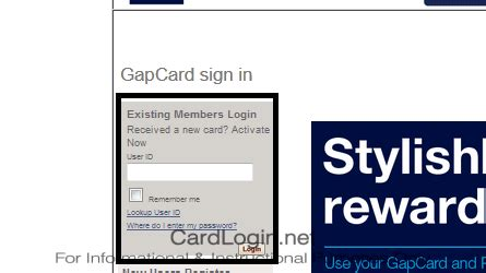 Gap credit card sign up online. Gap   How to Login   How to Apply   Guide
