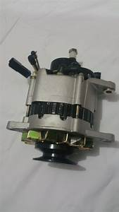 Alternator With Pump For Nissan Urvan E24 Engine Td27 2 7l Diesel 1987-1992