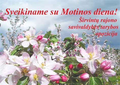 Sveikiname su Motinos diena! - Krašto žinios