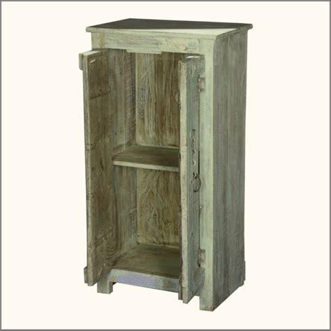 small wooden cabinets with doors furniture small storage cabinet made of reclaimed wood in
