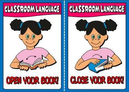 17 Best Images About Classroom Instructions On Pinterest  Mini Books, Language And Flashcard