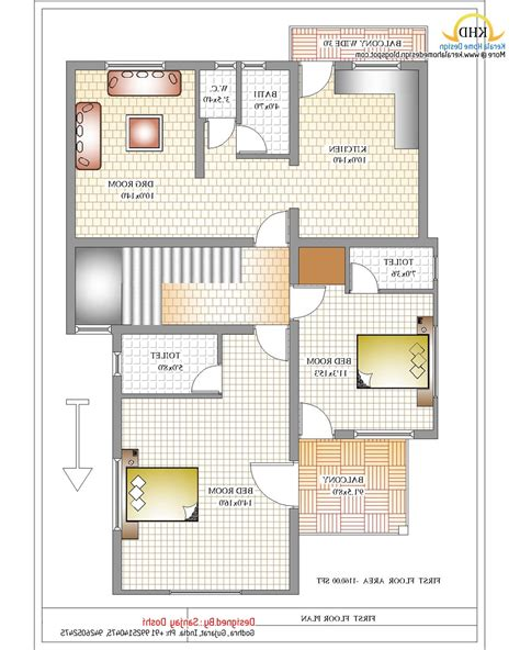 Bathroom Floor Plans India by Indian House Designs And Floor Plans Small Modern Kerala