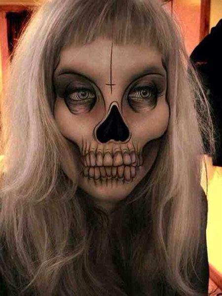 scariest halloween skeleton makeup  ideas  modern fashion blog