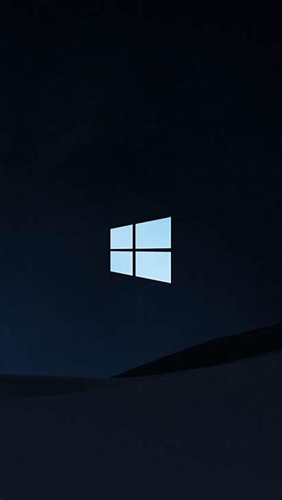 4k Windows Dark Background Ultra Mobile Wallpapers