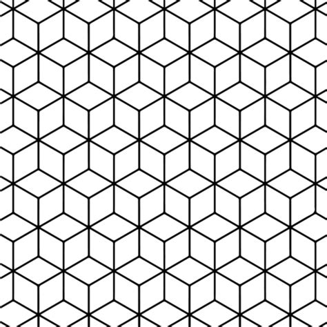 tessellation templates geometric tessellation with rhombus pattern coloring page free printable coloring pages