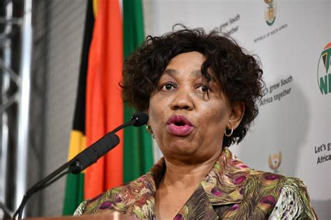 The minister of basic education and mud schools. WATCH LIVE | Angie Motshekga gives update on the return of remaining grades to school