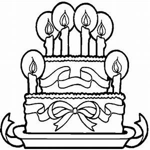 Dessin Gateau Anniversaire : les meilleurs coloriages d 39 anniversaire ~ Melissatoandfro.com Idées de Décoration