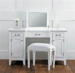 vanity table on