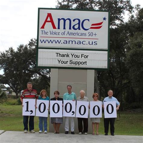 Amac Organization by Thank You Amac Members We Are One Million Strong Amac