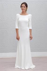 Robe Simple Mariage : hortense marie laporte officiel createur creatrice creation robe robes mariee mariees ~ Preciouscoupons.com Idées de Décoration