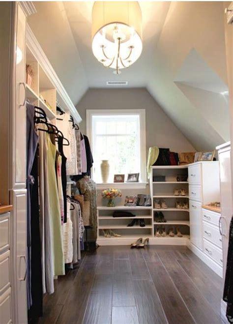 closet idea  images attic master bedroom closet