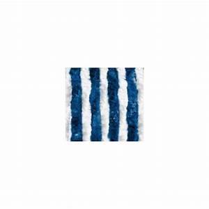 Blanc Bleu Automobiles : rideau de porte chenilles coloris blanc bleu pour caravane et camping car ~ Gottalentnigeria.com Avis de Voitures