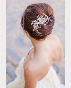 23 Exquisite Hair Adornments For The Bride Mon Cheri Bridals