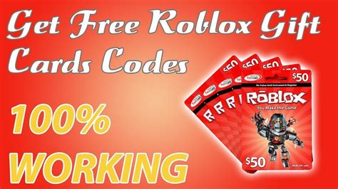 roblox   gift card codes offer  gift card