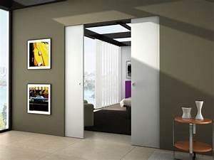 Porte Coulissante Dans Le Mur : syntesis line df schiebet ren glasschiebet ren ~ Dailycaller-alerts.com Idées de Décoration