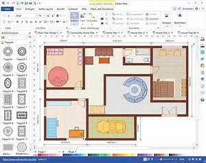 Grundrisse Zeichnen Haus Kostenlos : innen haus bauplan software mit kostenlosen vorlagen ~ Lizthompson.info Haus und Dekorationen