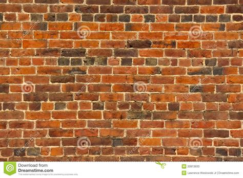 red brick wall  lots  texture  color stock