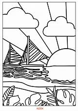 Coloring Remind Downloadable Travels Bohol Hills Chocolate Sunset sketch template