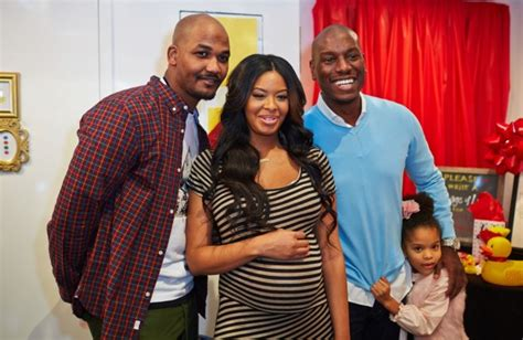 [pics] Tyrese, Angela Simmons & More Spotted At Vanessa