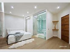 Arquitectura de Casas Modernos baños integrados al