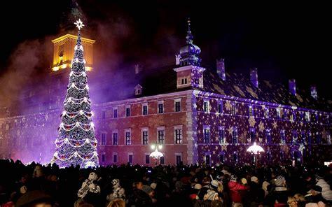 Weihnachten In Polen by Warsaw Poland Around The World