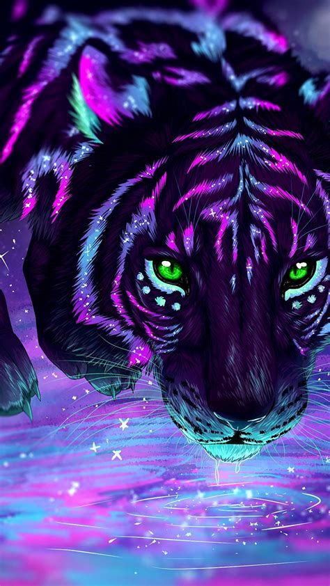 Anime Tiger Wallpaper - tiger wallpapers