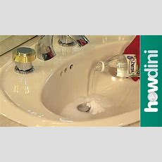 How To Unclog A Sink Drain  Youtube