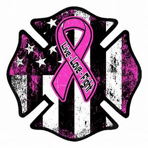 Breast Cancer Awareness Firefighter Decal 2017 – American ...