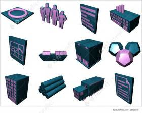 Logistics Process Icons For Supply Chain Diagram In Blue Purple Stock Illustration I1626078 At