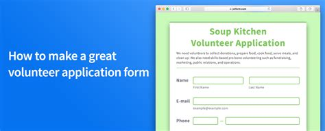 How To Make An Application by The Jotform Form Tips