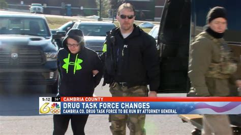 cambria county drug task force passes  administration